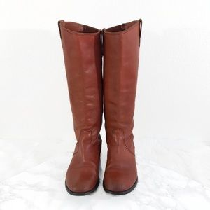 Madewell Leather Archive Boots Brown 1937 FLAWED